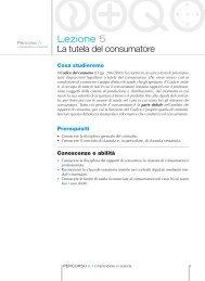 Lezione 5 La tutela del consumatore - Simone per la scuola
