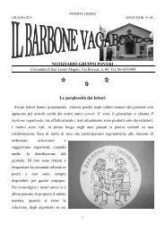 Il Barbone Vagabondo n. 88 - Volontariato Lazio