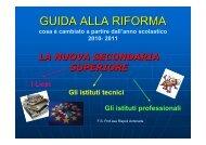 Orientamento alla scela della scuola Secondaria di II ... - Icsporzio.It