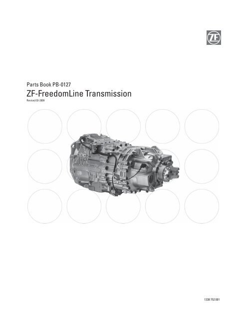 Parts Book PB-0127 ZF-FreedomLine Transmission