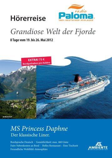 Broschüre mit Informationen zur Reise - Radio Paloma
