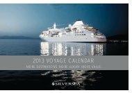 2013 VOYAGE CALENDAR - Bella Vista Travel