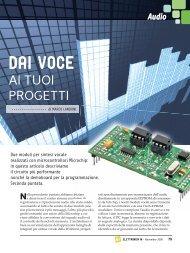 DAI VOCE - Futura Elettronica