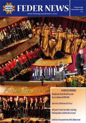Perché una Federazione Gospel? - Feder Gospel Choirs