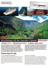 Læserrejse: De norske fjorde - Folkeskolen