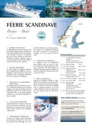 FéERIE SCANDINAVE Bergen - Histoire & Voyages