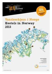 Last ned vår brosjyre i PDF format - Norske Vandrerhjem