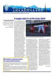Il meglio della Tv al Prix Italia 2010 - Città di Torino