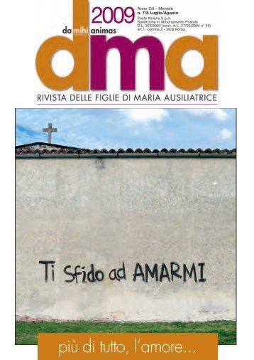 DMA 2009-7-8 V.7.0:Layout 2 - FMA Figlie di Maria Ausiliatrice