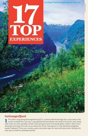 EXPERIENCES - Lonely Planet