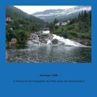 Norwegen 2006 in Hellesylt ist die Anlegestelle der Fähre durch den ...