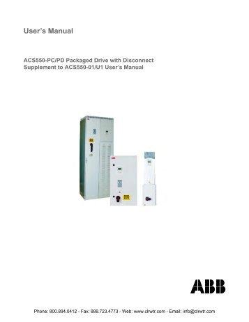 abb acs 800 user manual