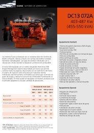 DC13 072A 403-487 Kw - Scania