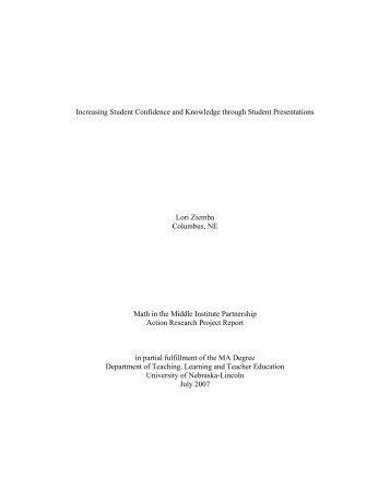 Full Document - Center for Science, Mathematics & Computer ...