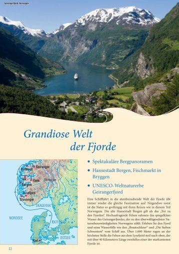 Grandiose Welt der Fjorde - Seereisen Berlin
