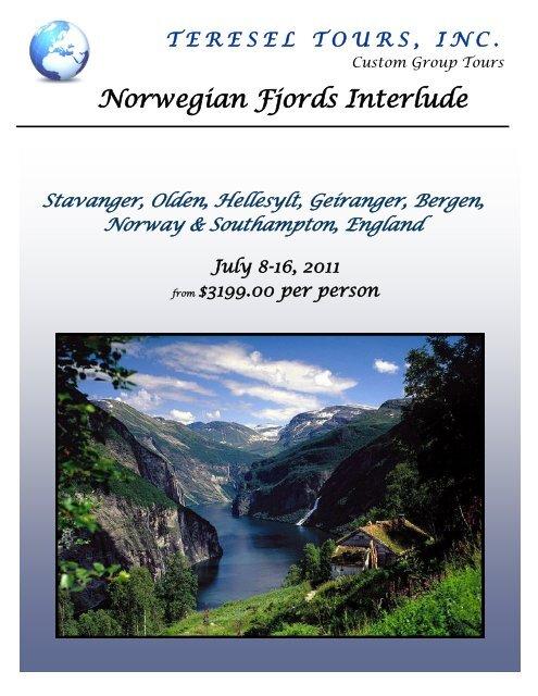 Norwegian Fjords Interlude - Teresel