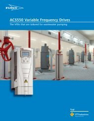 Brochure - Xylem Water Solutions