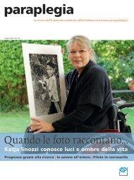 Paraplegia Nr. 114, maggio 2011 (PDF, 6.9 MB)