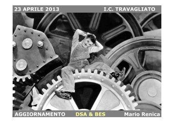 23 APRILE 2013 IC TRAVAGLIATO AGGIORNAMENTO DSA & BES ...