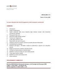 CIRCOLARE N. 15 La nuova disciplina dei ritardi di pagamento ...
