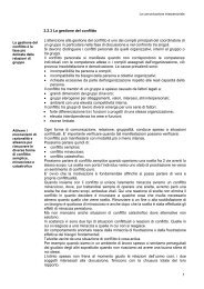 La gestione del conflitto - Comune di Campagnano di Roma