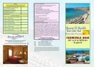 Sharm El Sheikh Ras Um Sid - Tour Operator ARTIKA BOLZANO