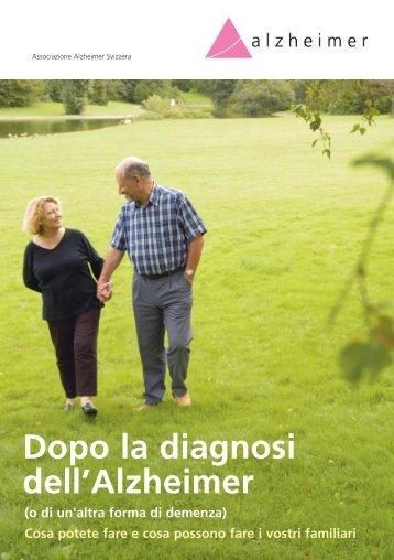 Dopo la diagnosi dell'Alzheimer