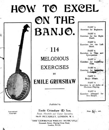 How to Excel on the Banjo - Classic Banjo