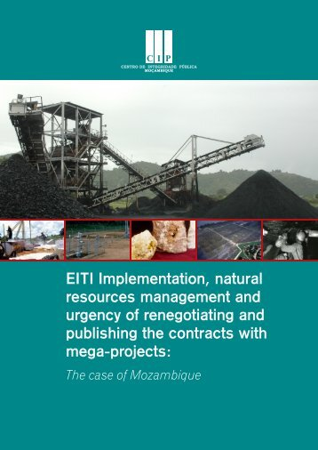EITI Implementation, natural resources management and ... - CIP