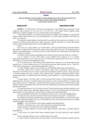 5754 sayılı Kanun.htm - Bankacılık Düzenleme ve Denetleme Kurumu