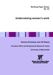 WP53 Undervaluing women's work - Equality and Human Rights ...