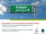 European Communications Expert Panel