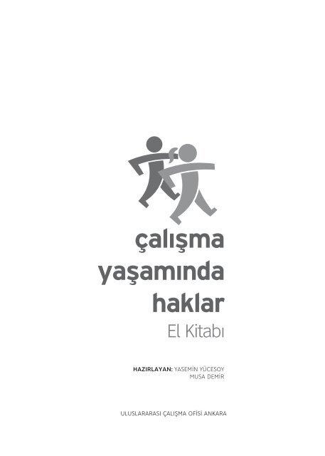 Calisma Yasaminda Haklar El Kitabi International Labour