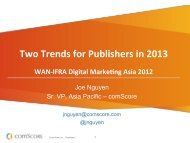 Two Trends for Publishers in 2013 - WAN-IFRA