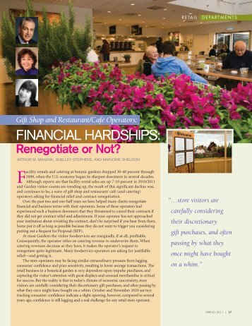 Financial Hardships: Renegotiate Or Not - Manask & Associates