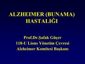 Alzheimer Aşısı