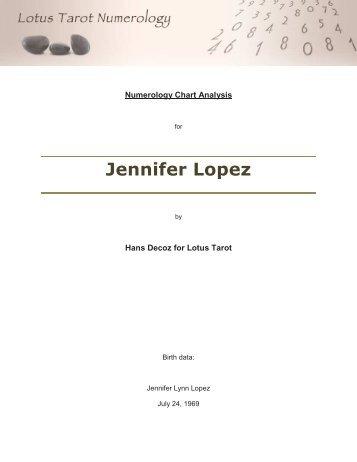 View Sample Jennifer Lopez Free Tarot Readings
