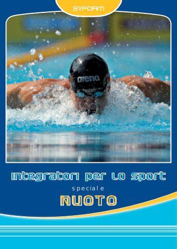 Guida all'alimentazione nel nuoto - Preparazione Atletica