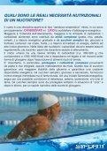 Guida all'alimentazione nel nuoto - Preparazione Atletica - Page 3