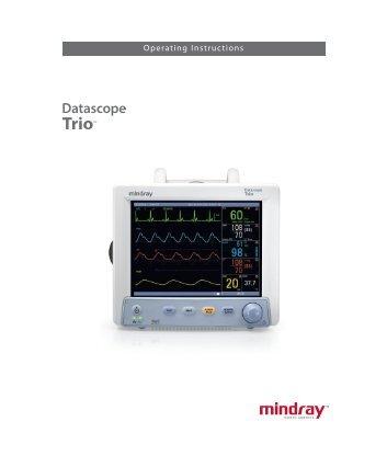 Operating Instructions - Mindray