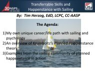 Transferable skills and Happenstance with Sailing - US Sailing ...