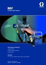 320579E , HVLP Portable Turbine Sprayers
