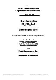 Buchfahrplan - Zababov