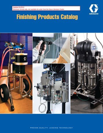 Finishing Products Catalog - MC SUPPLY & Service Company LLC