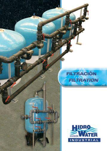 CATÁLOGO FILTRACIÓN INDUSTRIAL - Hidro Water