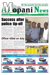 Success after police tip-off - Letaba Herald