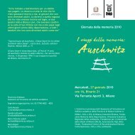 Programma - Provincia di Milano