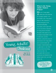 2011 Young Adults' Choices - International Reading Association