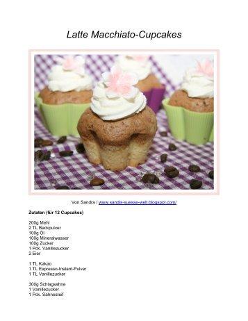 Sandras Latte Macchiato Cupcakes - Tchibo Corporate Blog