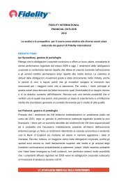 Financial outlook 2010: analisi e prospettive ... - CardiEditore